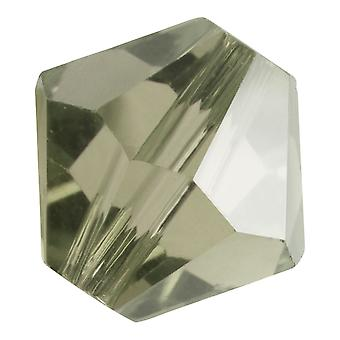 Preciosa التشيكية كريستال، Bicone حبة 5mm، 32 قطعة، الماس الأسود