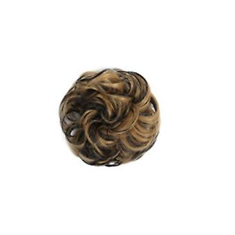 3 BUC sintetice Elastic Bundle Cret Bun Hair String Natural Faux Buns Bucle Ponytail Femeii Hair