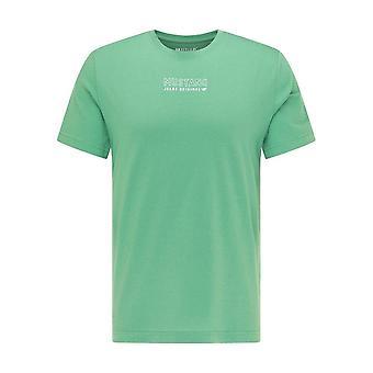 Mustang Skor Alex C Print 10110256398 universell hela året män t-shirt