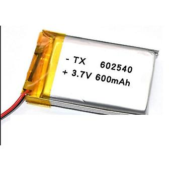 Polymeer 602530, 3.7v 600mah Lithium Batterij