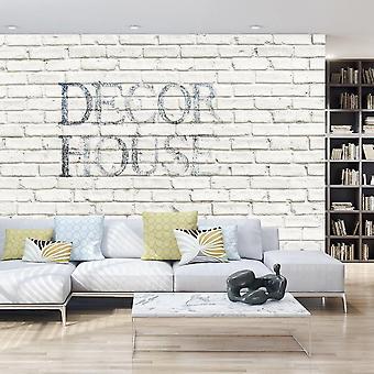Tegeleffekt tapeter - Snygg vägg