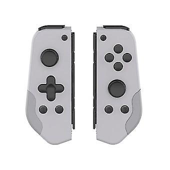 任天堂スイッチジョイコン(ライトグレー)のためのターボデュアル振動交換付きゲームプレイコントローラ
