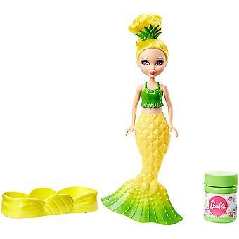Barbie Dreamtopia szappan buborékok és Fun sellő sárga