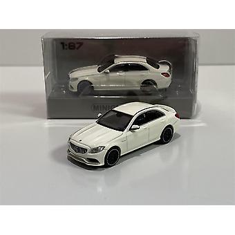Minichamps 870038100 2017 Mercedes AMG C63 Hvit 1:87 Skala