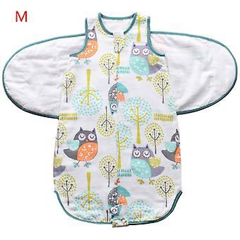 Les nouveau-nés Emmaillot Sleepsack Soft Breathable Coton Nourrissons Sac de couchage Réglable Tout-petits Enveloppe Couverture en tissu