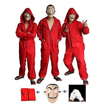 Dali Costume La Casa De Papel Cosplay Halloween Party