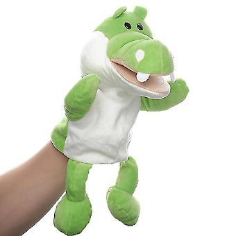 Krokodíl ručná bábková zvieracia toy