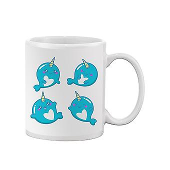 Cute Narwhals Mug -SPIdeals Designs
