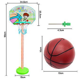 子供&アポス;sバスケットボールスタンド安全パズル親子スポーツアウトドアスポーツ早期教育おもちゃ