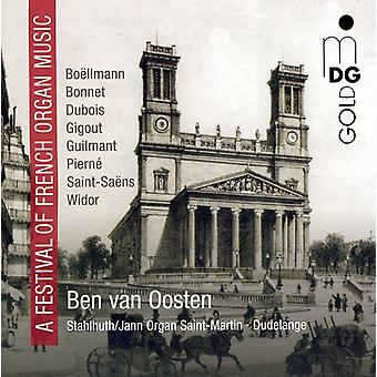 Festival of French Organ Music - A Festival of French Organ Music [CD] USA import