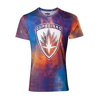 Guardians Vol. 2 All-Over Galaxy T-Shirt - Multi-Colour M Size (TS571037GOG-M)