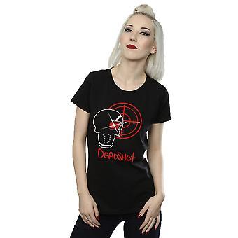 Suicide Squad kvinnors Deadshot ikonen T-Shirt