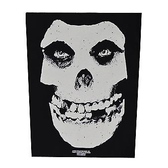 Misfits Face Skull Back patch