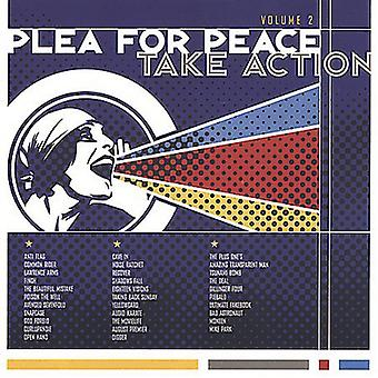 Take Action - Take Action: Vol. 2-Plea for Peace [CD] USA import