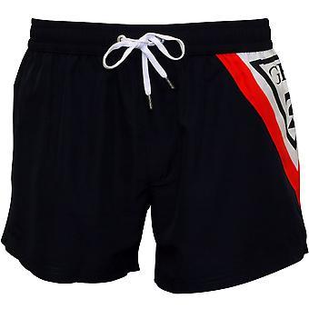 Klasyczne Logo guess pływać szorty, US Navy