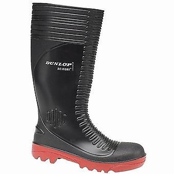 Dunlop Acifort A252931 gerippt volle Sicherheit Wellington / Herren Schuhe