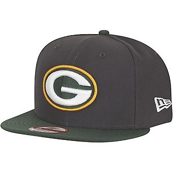 New era 9Fifty Snapback Cap - NFL Green Bay Packers graphite