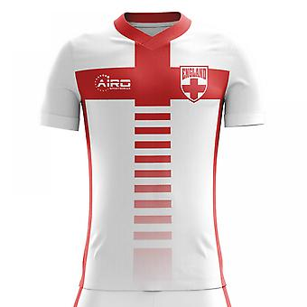 2020-2021 England Home Concept Football Shirt