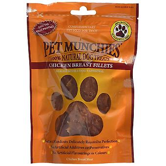 Pet Munchies Dog Treat Chicken Breast Fillet 100 g (Pack of 8)