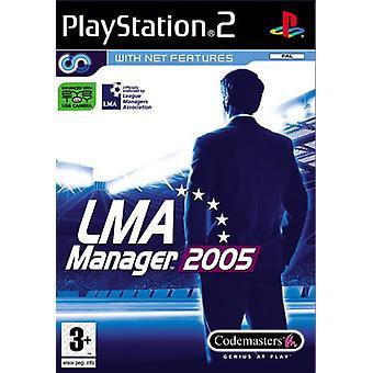 LMA Manager 2005 (PS2) - Som ny