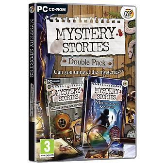 Mystery Stories Double Pack Mountains of Madness Curse of the Ancient Spirits (PC DVD) - As New