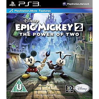 Disney Epic Mickey 2 - The Power of Two (PS3) - New