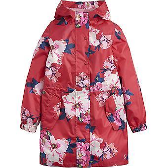 Joule ragazze Z ODR Golightly leggero impermeabile Parka Coat Jacket