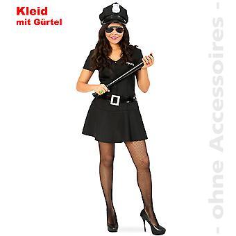 Police Girl Polizei Damenkostüm Polizeikleid Cop Polizistin Teenager Kostüm