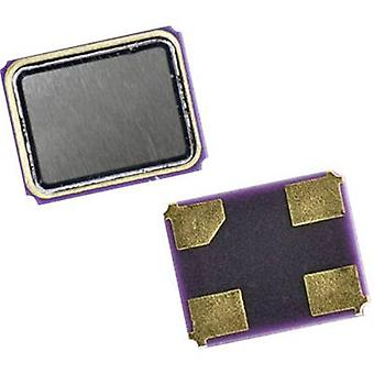 Qantek kvartskrystall QC 2525.0000 F12B12M SMD 4 25,0000 MHz 12 pF 2,5 mm 2 mm 0,6 mm 1 PC (er)