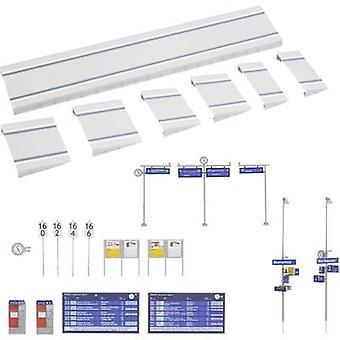 Faller 120202 H0 Modern platform with accessories