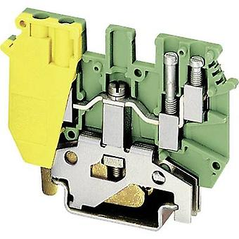Phoenix Contact UDK 4-PE 2775184 Tripleport PG terminal Number of pins: 4 0.2 mm² 4 mm² Green-yellow 1 pc(s)