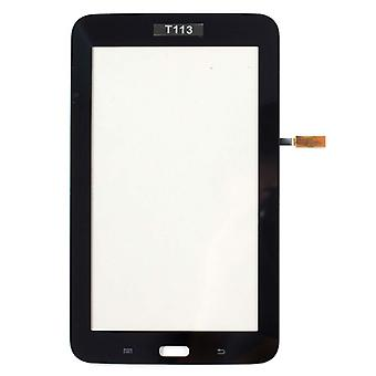Berøringsskjerm egnet for Samsung Galaxy Tab 3 Lite SM-T113-svart