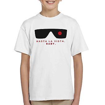Terminator Hasta La Vista Baby Minimal Kid's T-Shirt