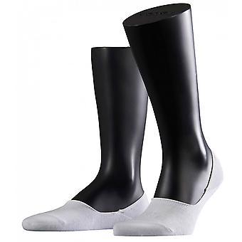 Falke passo meias invisíveis - branco