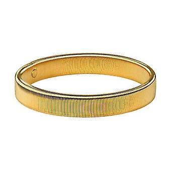 David Van Hagen gullbelagt skjorte armbånd - gull
