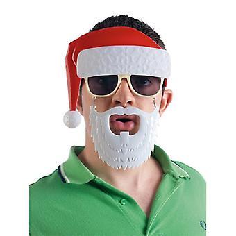Lunettes lunettes de soleil lunettes lunettes de plaisanterie comme père Noël Santa Claus