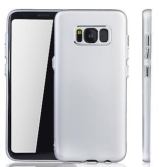 Samsung Galaxy S8 tilfelle - mobiltelefon tilfelle for Samsung Galaxy S8 - mobile tilfelle sølv