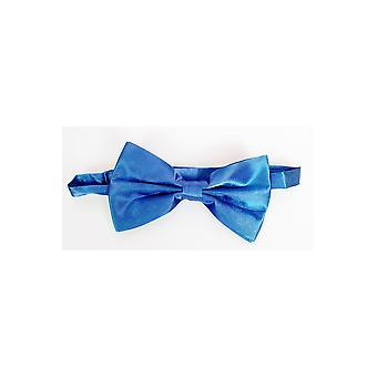 Buigt en blauw strikje banden