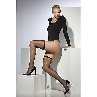 Lattice Net Stockings, One Size