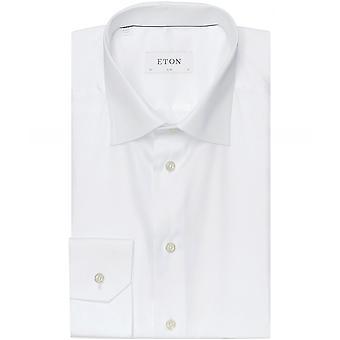 Camisa Slim Fit llano de Eton