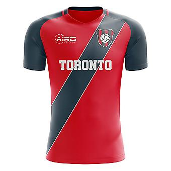 2020-2021 Toronto Home Concept Fotbal Shirt