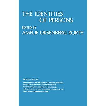 The Identities of Persons by Amelie Oksenberg Rorty - 9780520033092 B