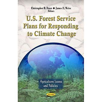 E.u. serviço florestal planos para responder às alterações climáticas