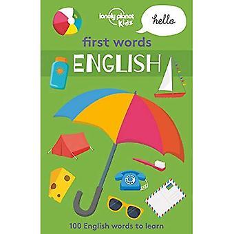 Första orden - engelska (Lonely Planet Kids)