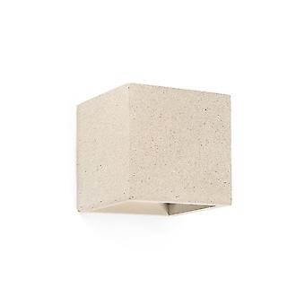 Faro - Kamen Beige Cube Wand Licht FARO63311