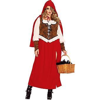 Amazing Riding Hood Plus Size Costume