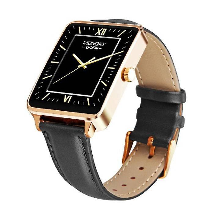 Stuff Certified ® Original A58 Smartwatch Smartphone Fitness Sport Activity Tracker Watch OLED Android iOS iPhone Samsung Huawei Gold