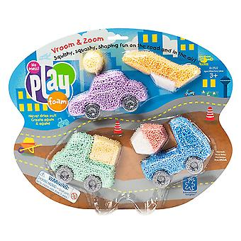Learning Resources Playfoam Vroom & Zoom Themed Set