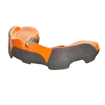 Predator Venum MMA Boxen Sport Erwachsene Mundschutz mit Case - Grau/Orange