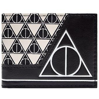 Warner Bros Harry Potter Deathly Hallows ID & Card Bi-Fold Wallet